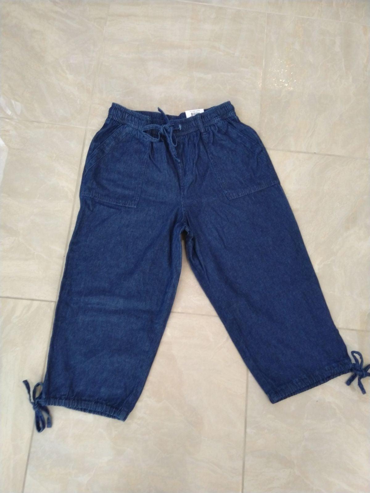 Karen Scott capri jeans size small
