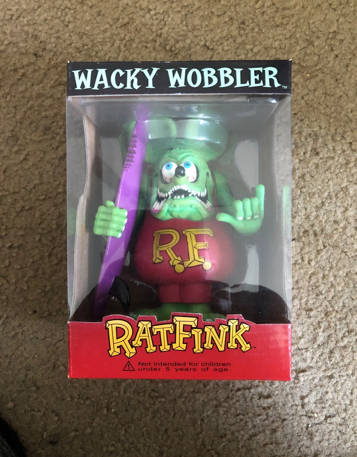 Rat Fink Surf Bobblehead