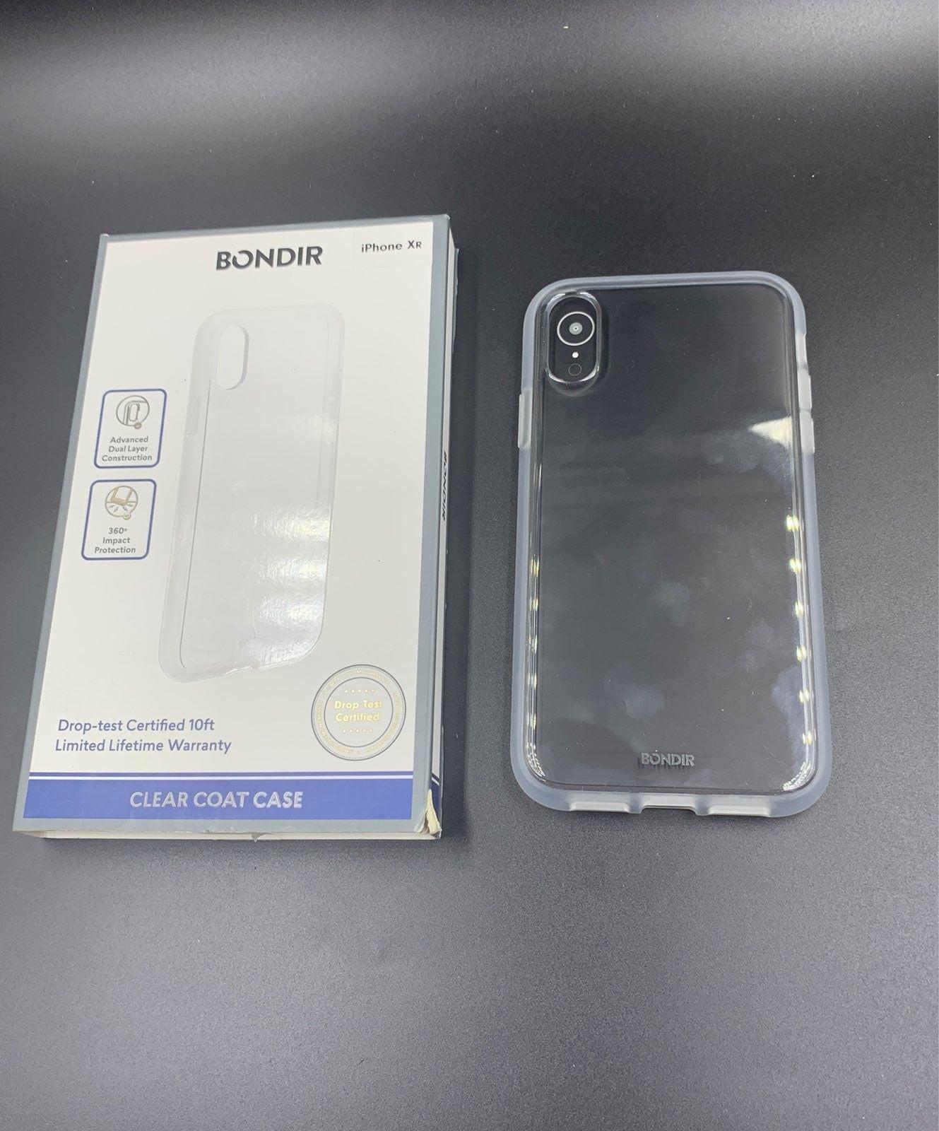 BONDIR Apple iPhone XR Clear Case