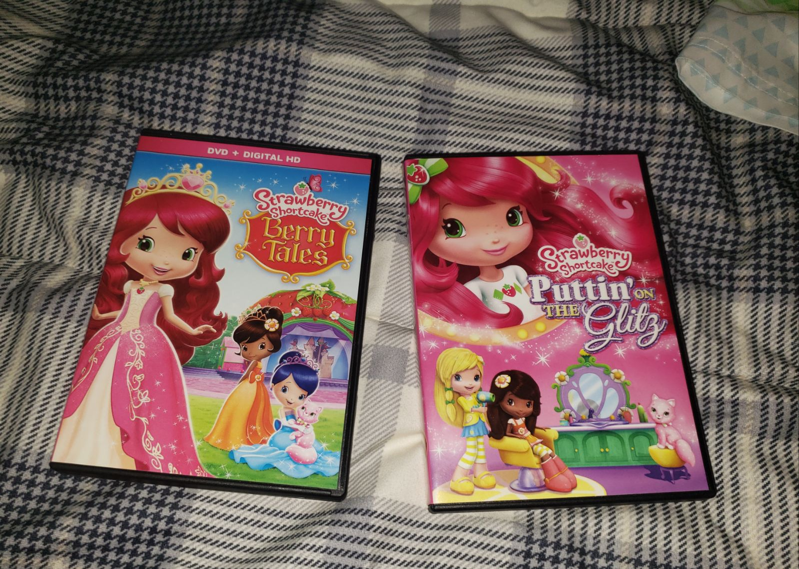 Strawberry Shortcake DVD lot of 2 Berry