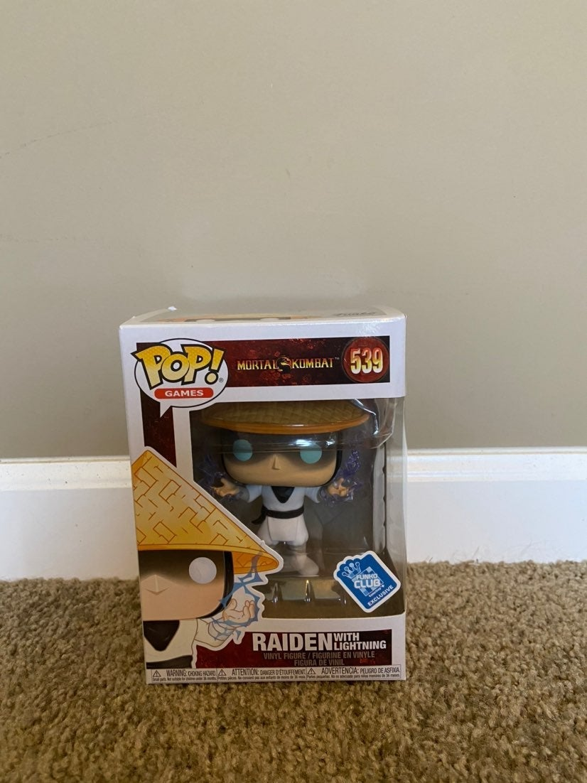 Funko Pop Raiden with lightening #539