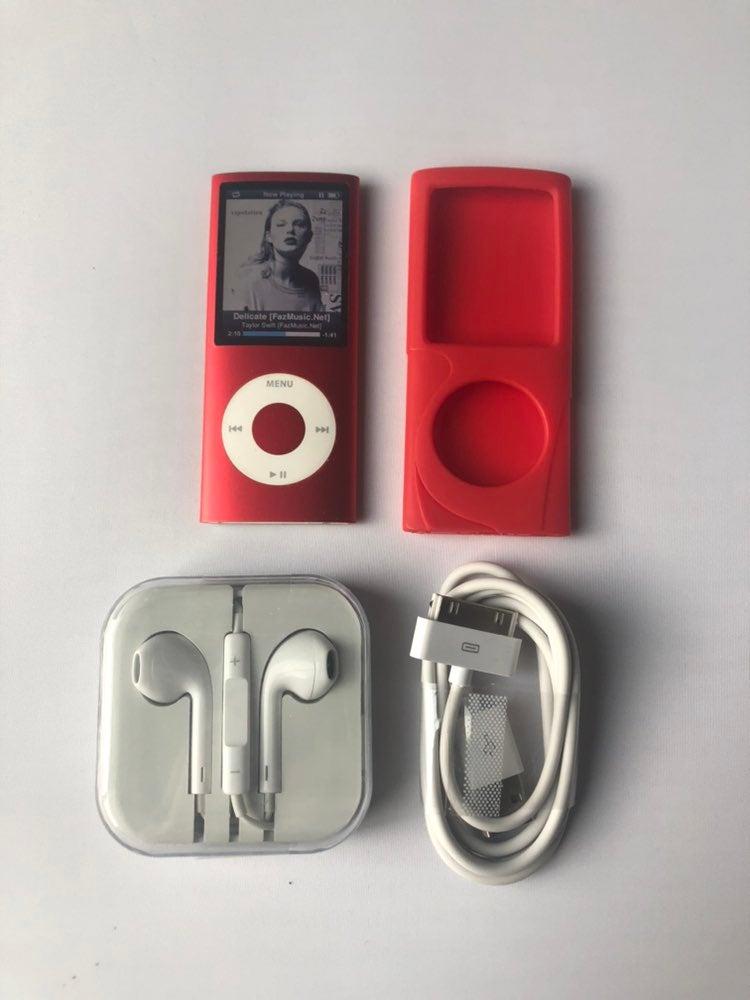 Ipod Nano 4th Gen 16gb Red Mint #4707 41