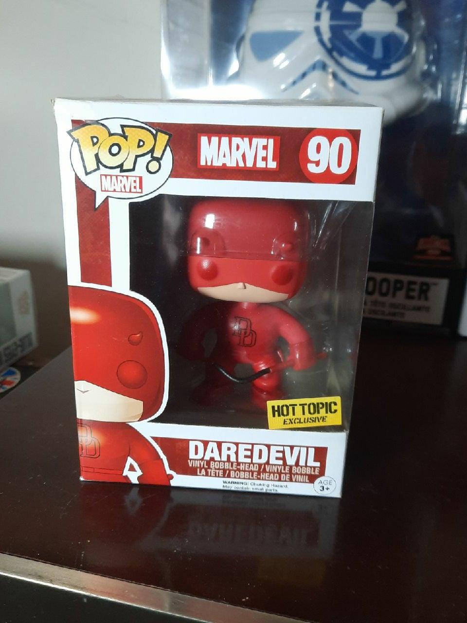 Daredevil funko Pop 90 hot topic marvel