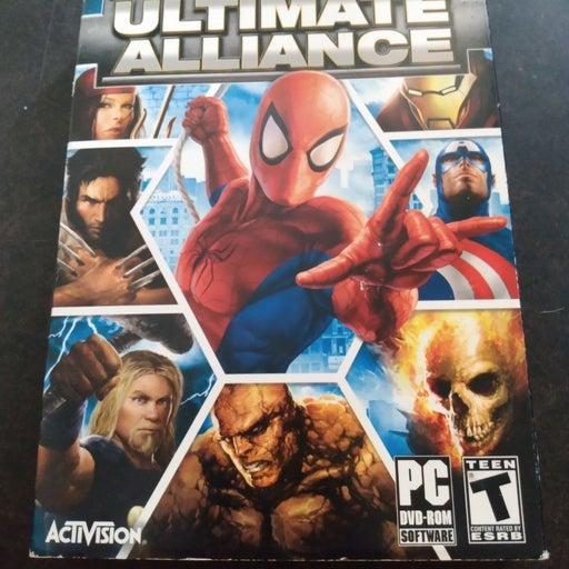 Marvel Ultimate alliance Rare PC game ac