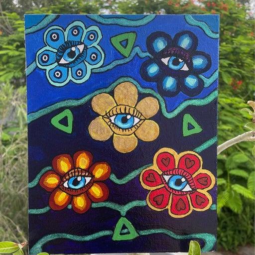 True Colors canvas panel painting