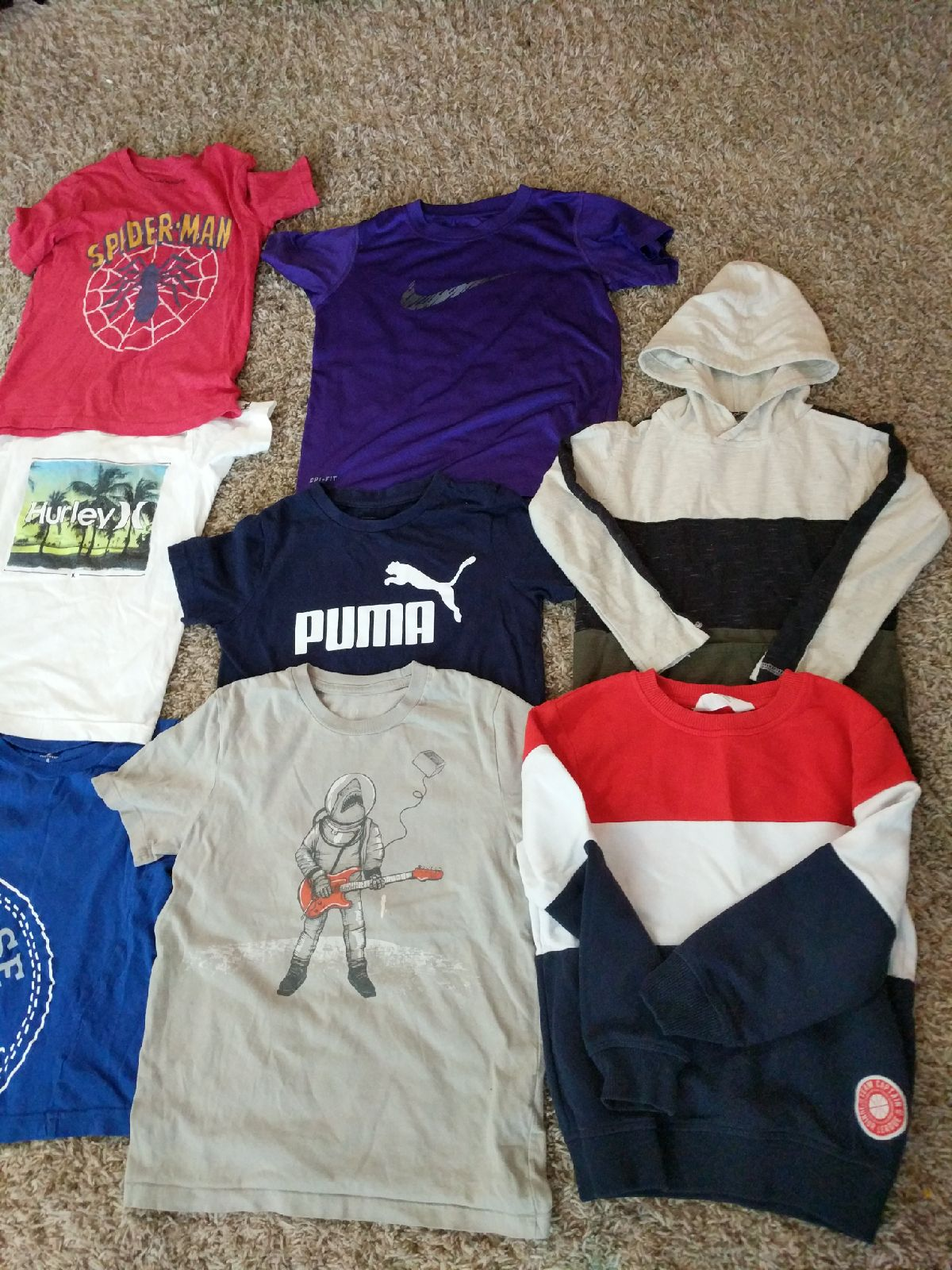 Boys size 6t shirt (lot)