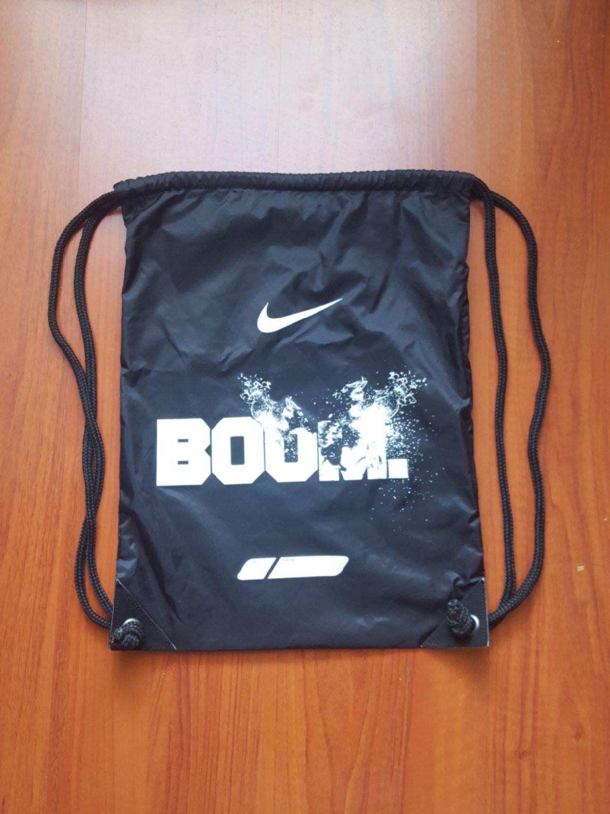 Nike boom Drawstring black backpack