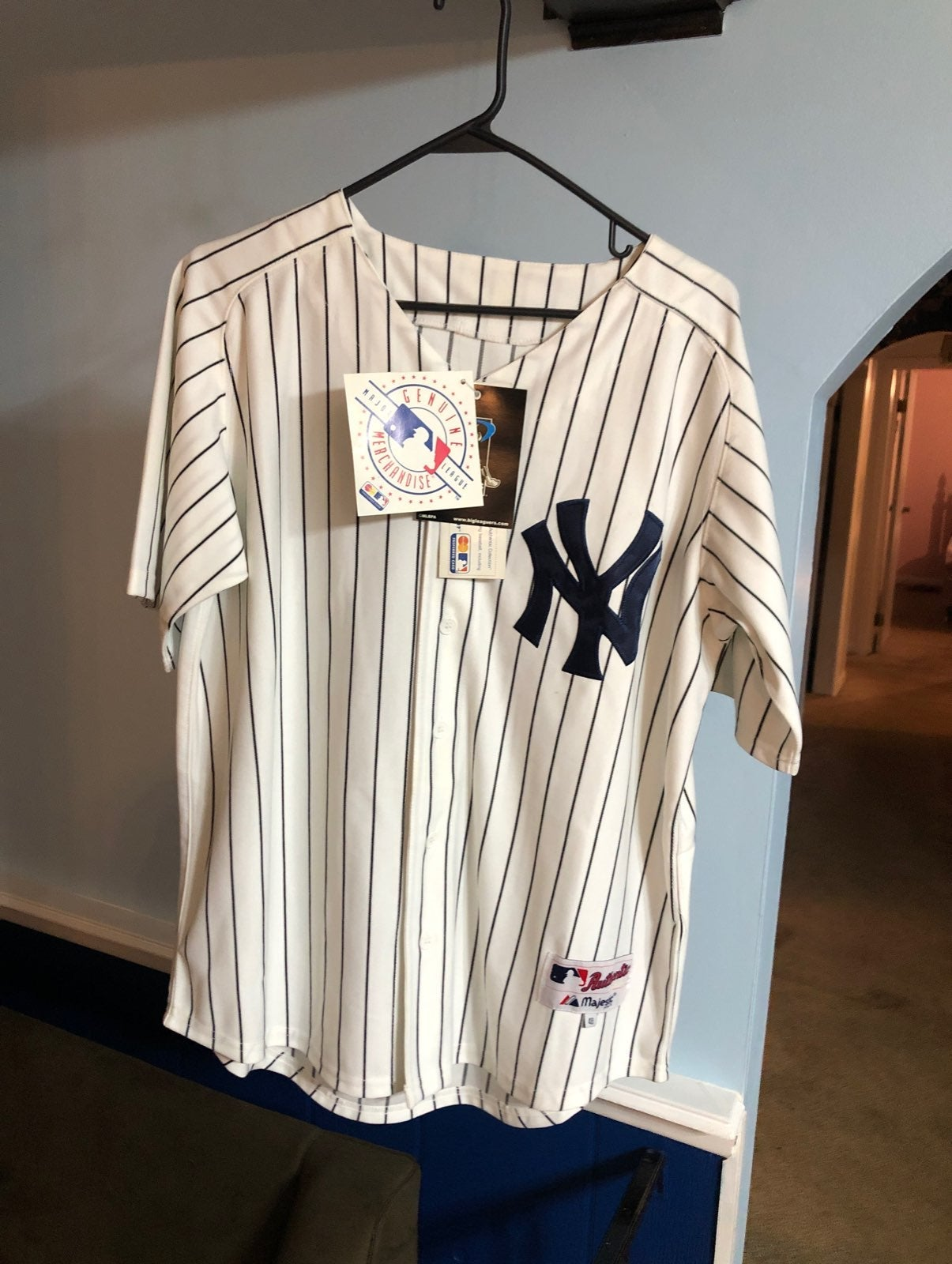 Yankees Babe Ruth Opening Day 09 Jersey
