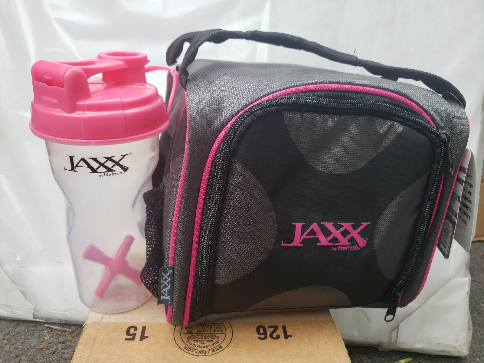 Jaxx fitpack meal portion control system