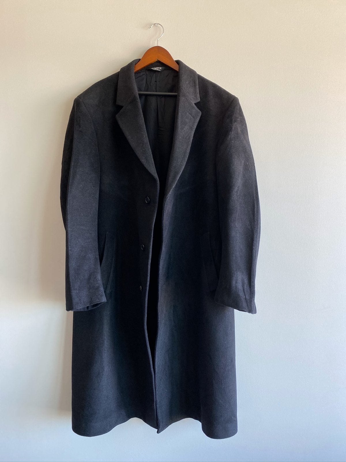 Jos A. Bank Trench Coat Sz 46