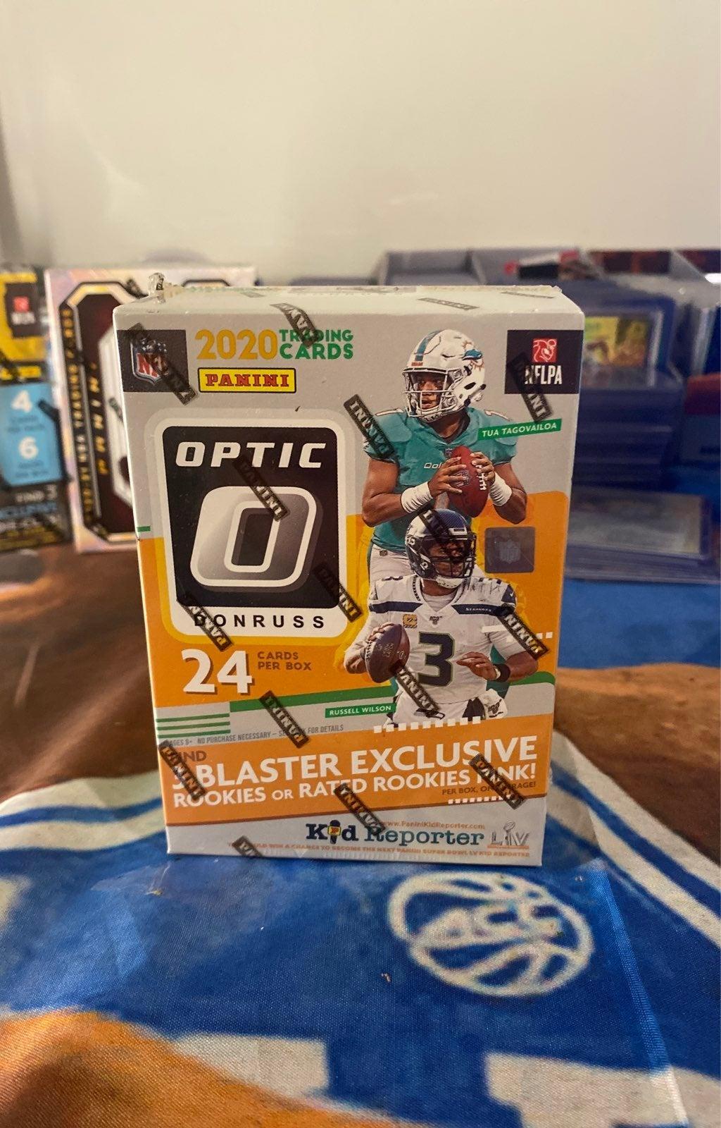 2020 optic football blaster box