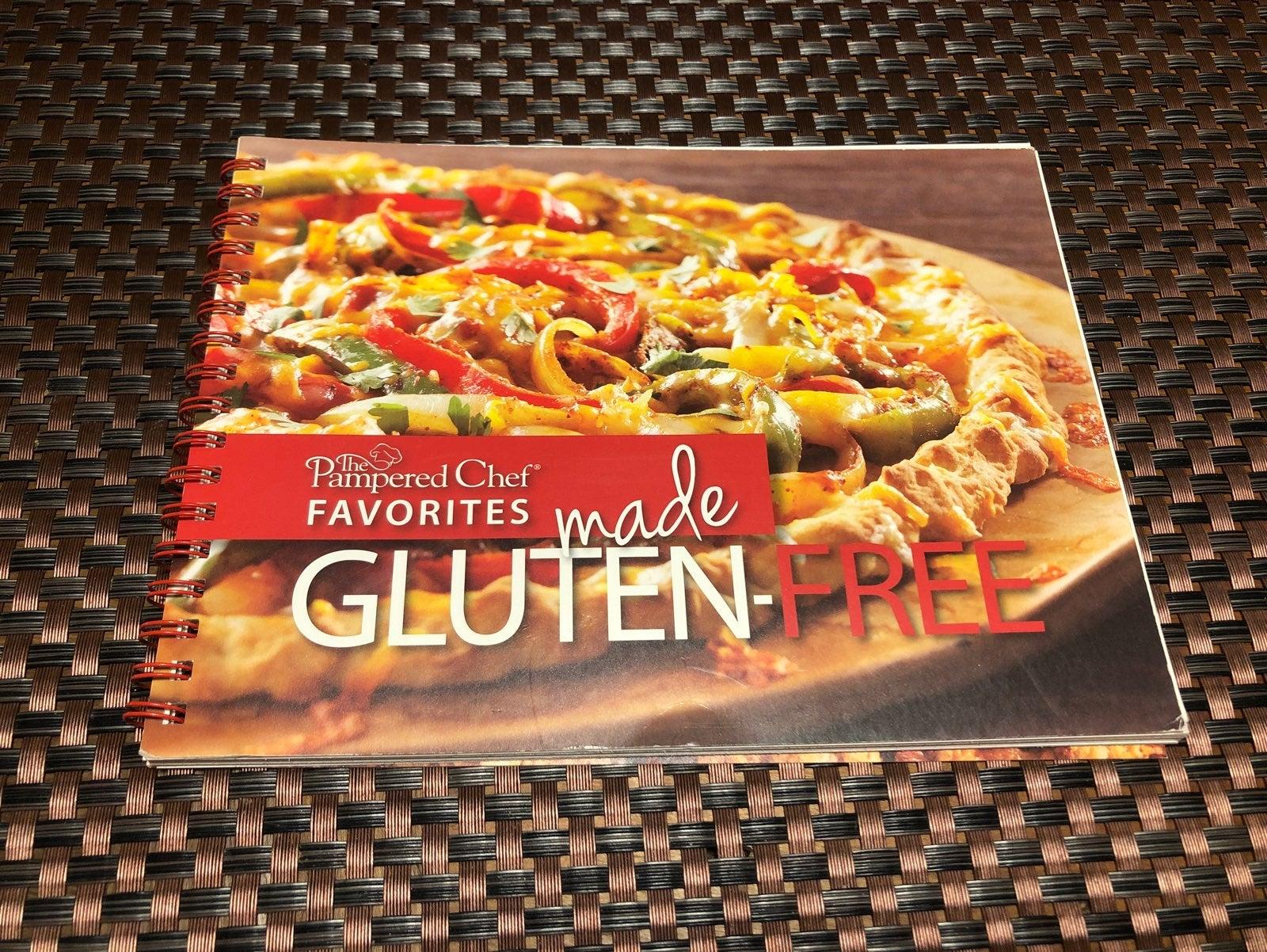 Pampered Chef Cookbook- Gluten Free