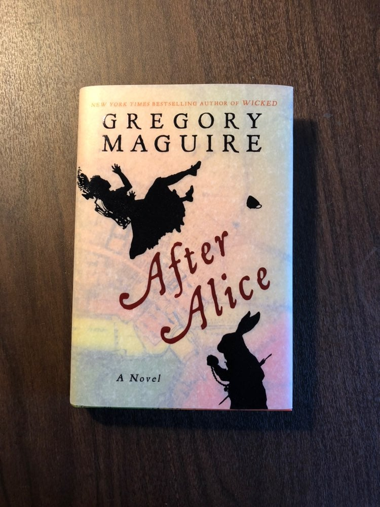1st ed, After Alice autogrophed by Magui