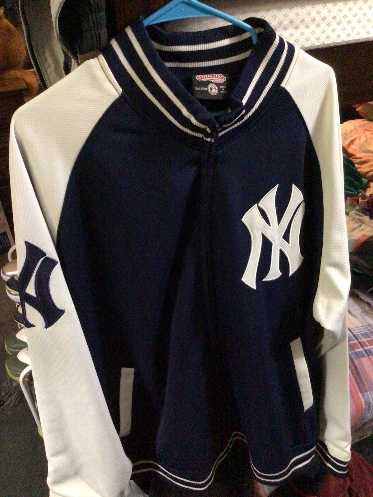 Stitches Ny yankees track jacket 2xl
