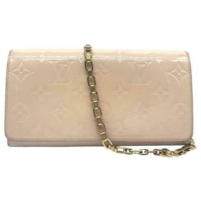 Louis Vuitton Sarah Chain Wallet Rose