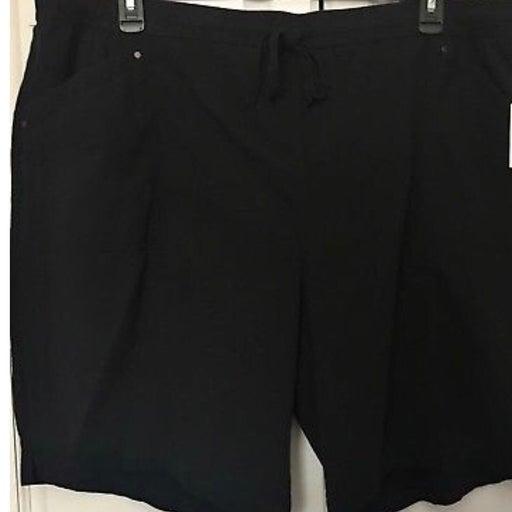 Croft&Barrow Stretch Pull On Shorts