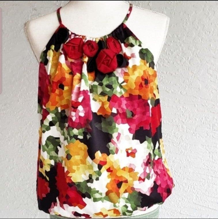 Sunny Leigh Floral Tank Top