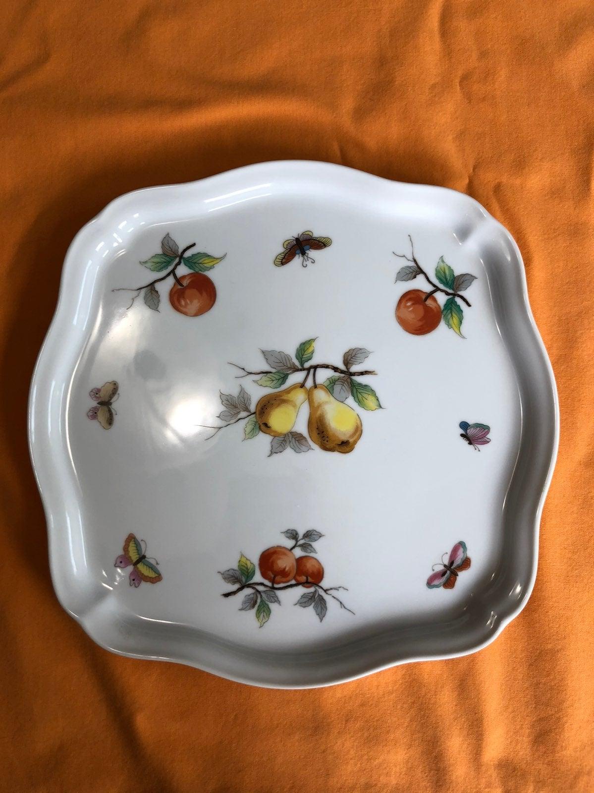 Vntg Sadek Fruit Pattern Cookware