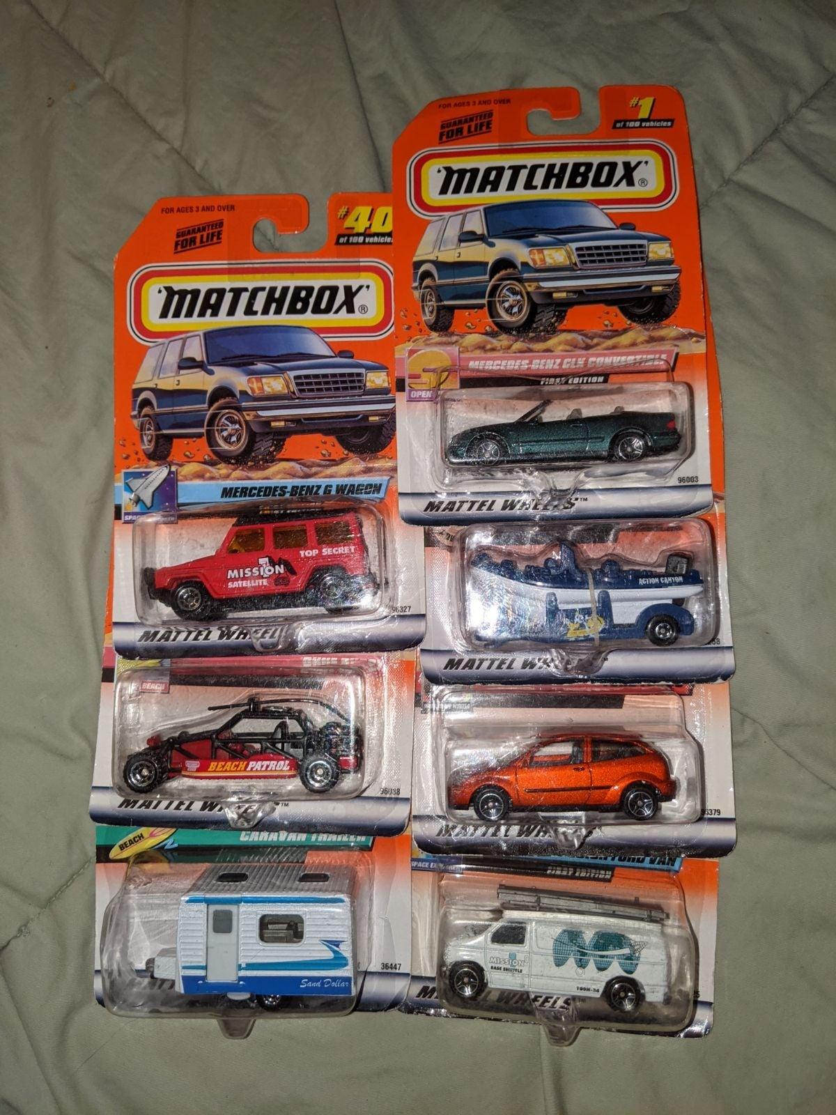 Matchbox Car Lot