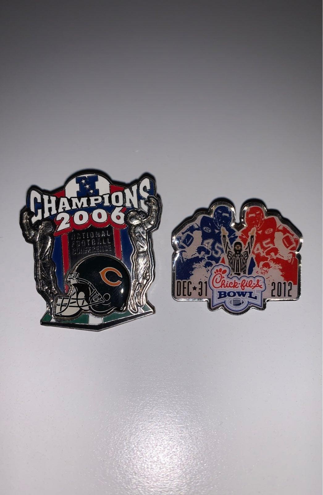 Chicago Bears Pin