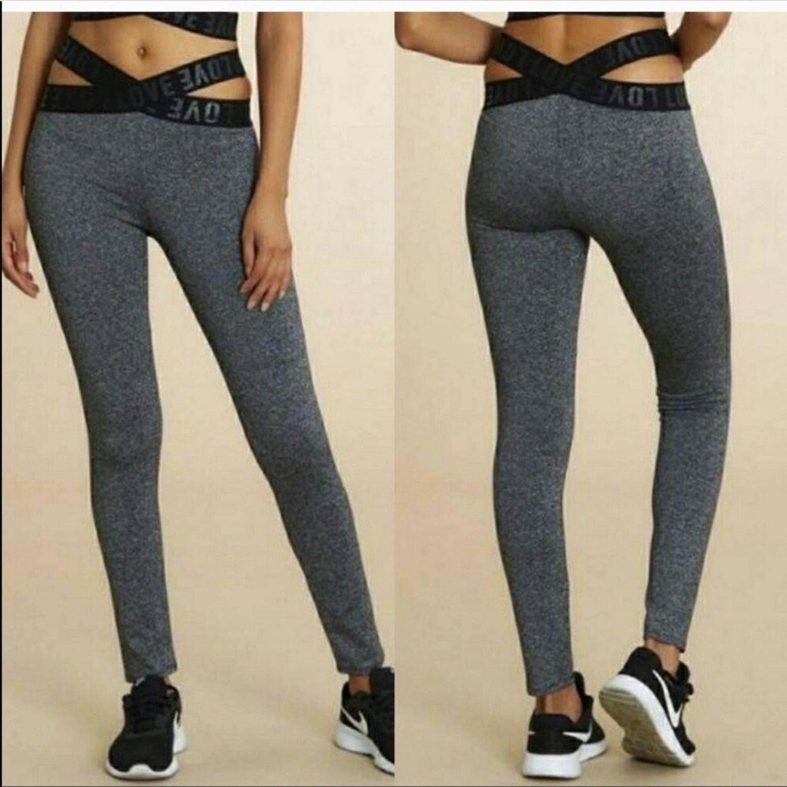 Bozzolo black leggings size small