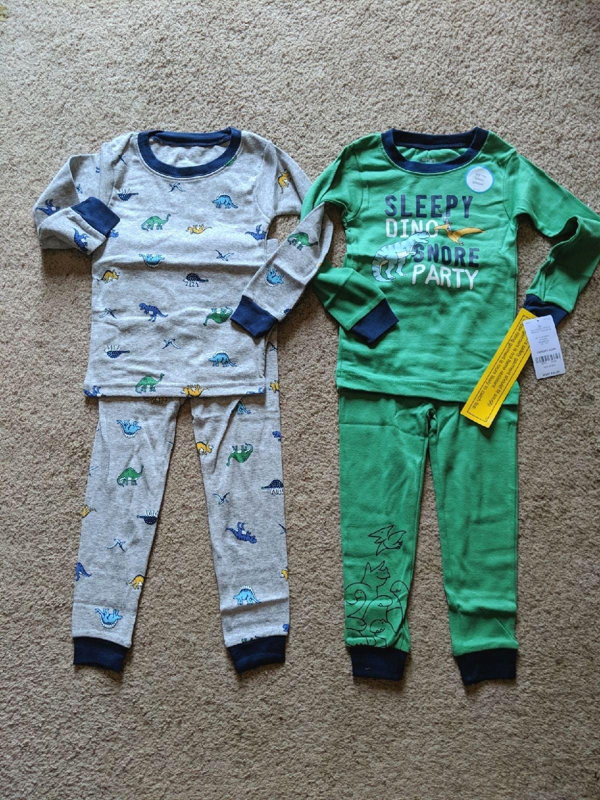 Carter's Dinosaur Pajamas