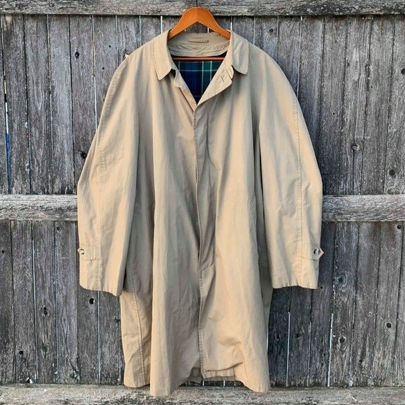Vintage Abercrombie & Fitch trench coat