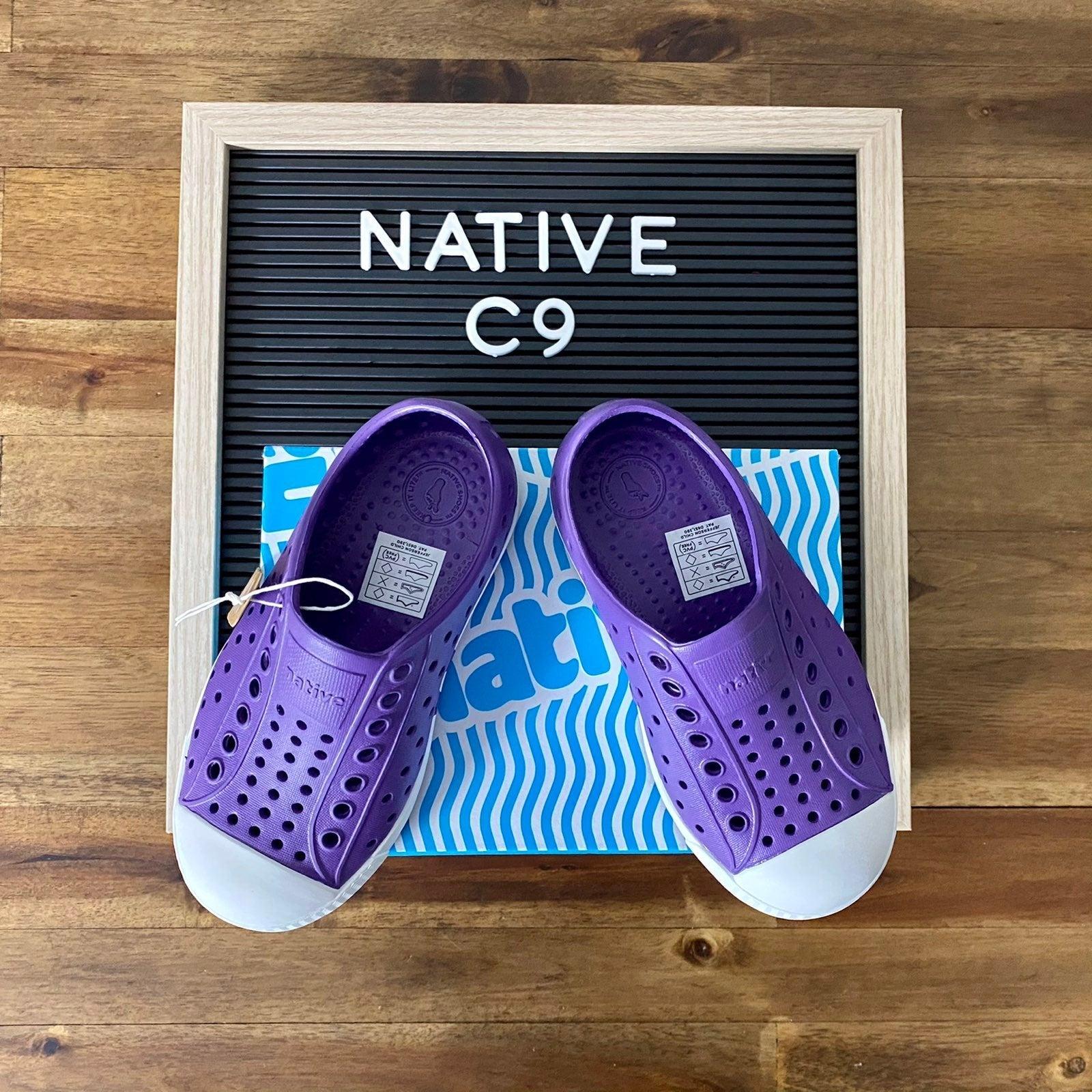 NIB Native Jefferson Purple Shoes C9
