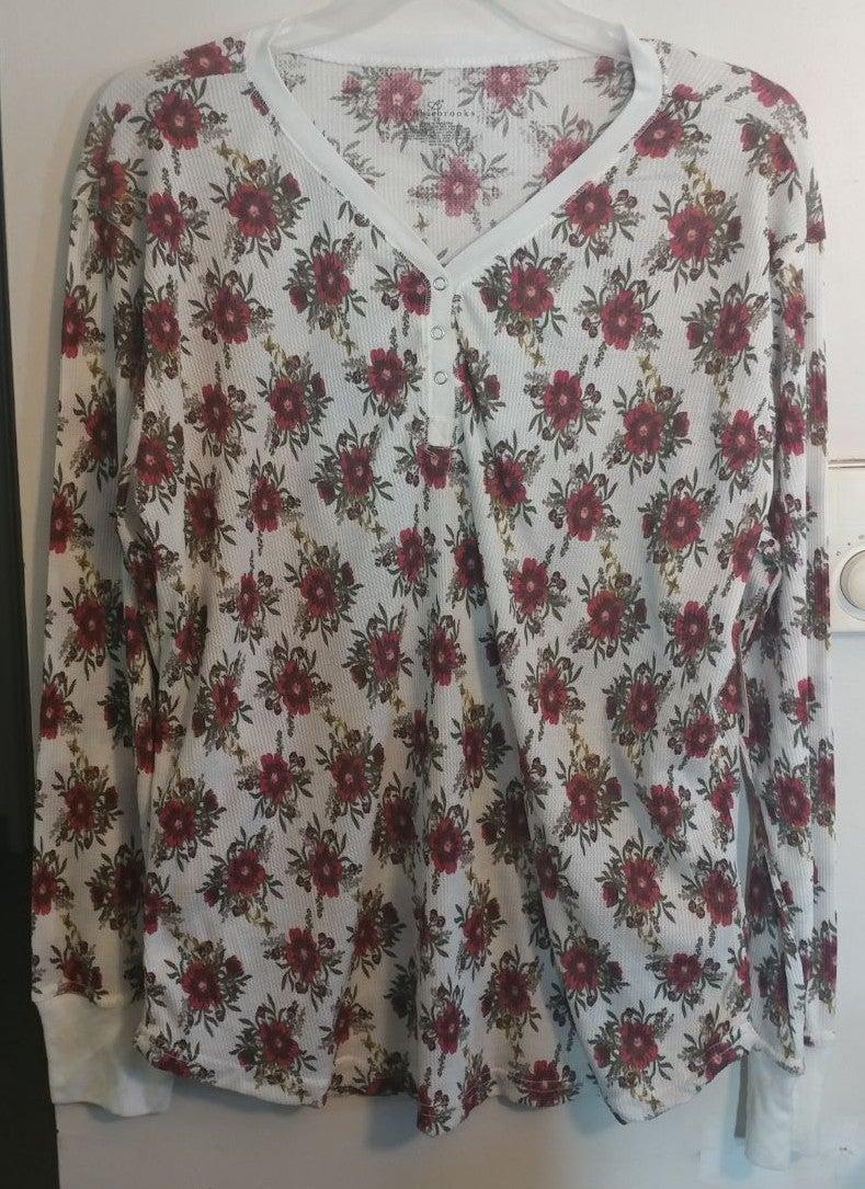 Woman's waffle knit shirt size 2x