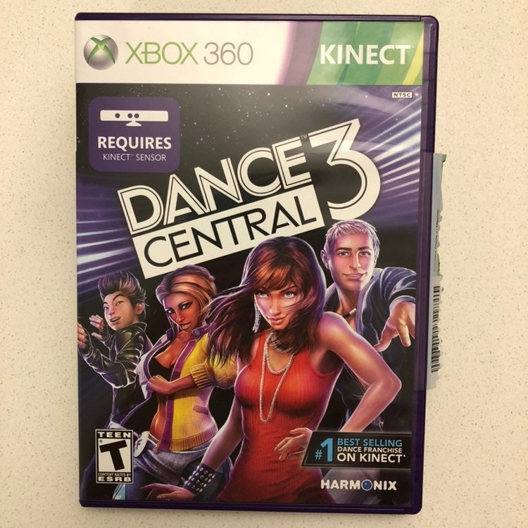 Dance Central 3 - Fitness DVD Xbox 360