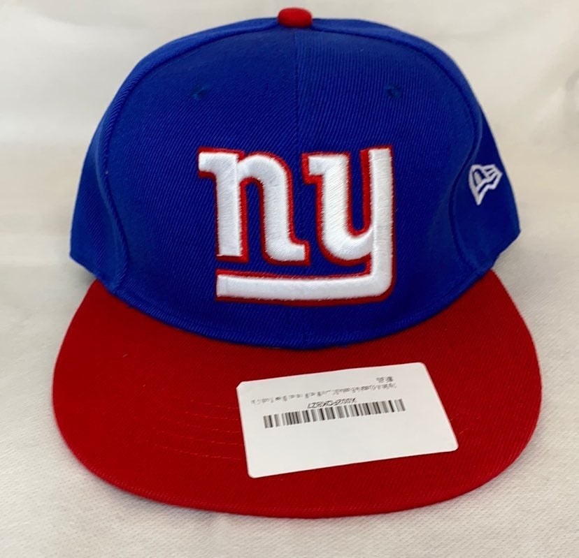 New York Giants Baseball Hat Red Blue