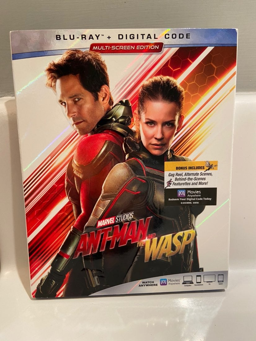 And The Wasp Blu-Ray