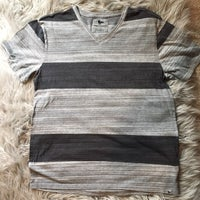 24b973bb73 Men's Striped V-neck T-shirt