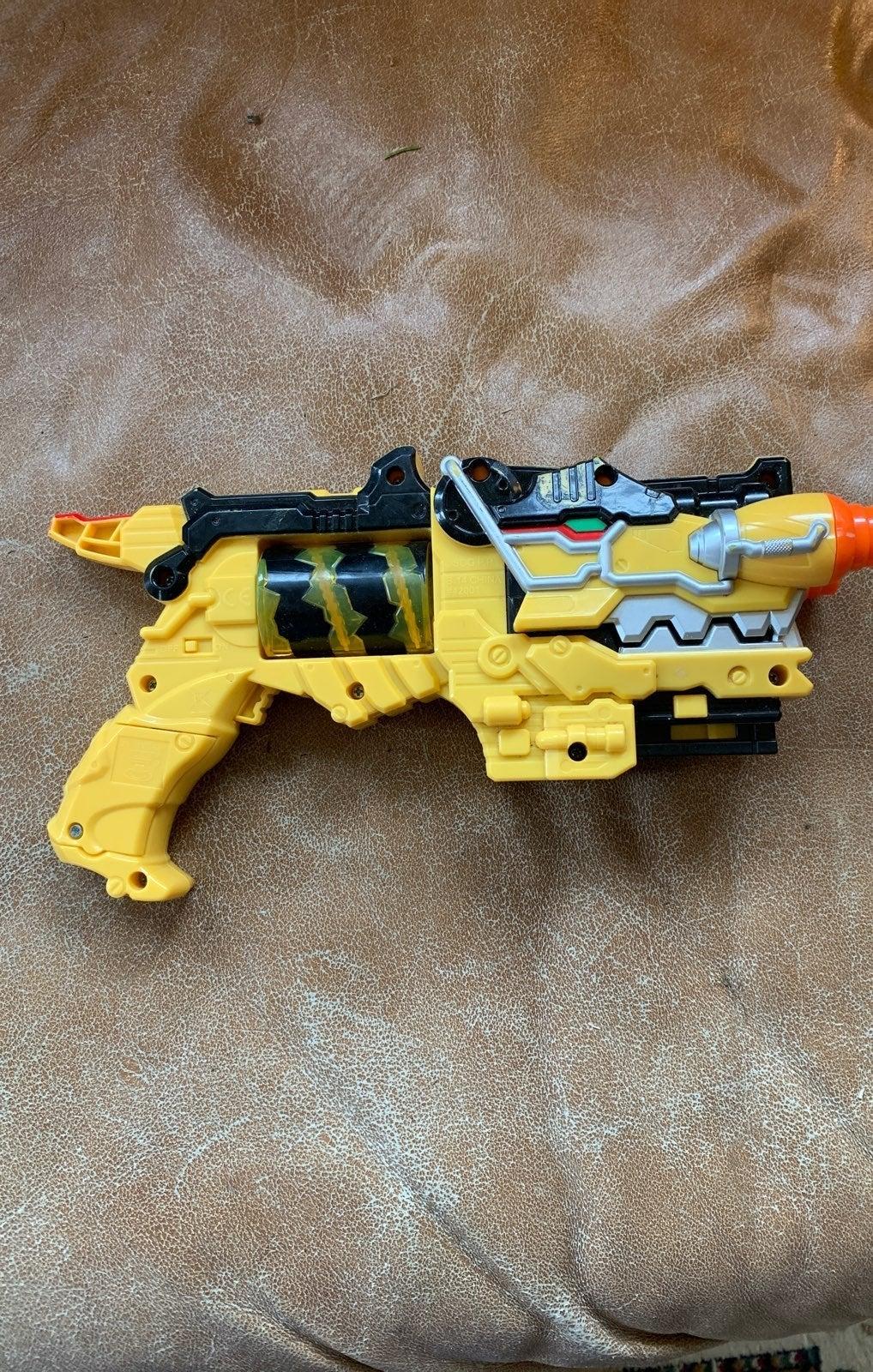 power rangers dino morpher blaster