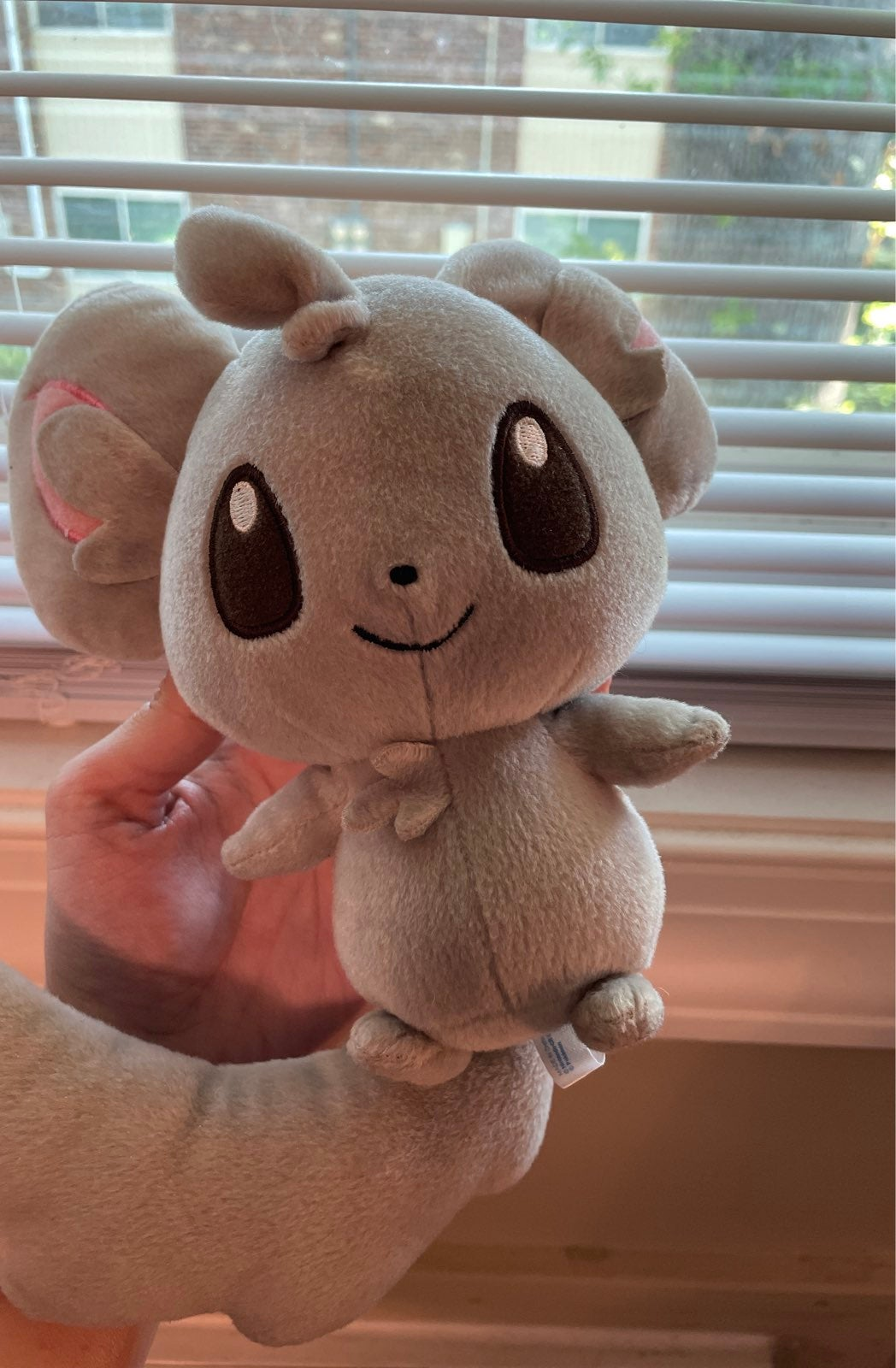 Minccino Pokemon Plush Stuffed Animal