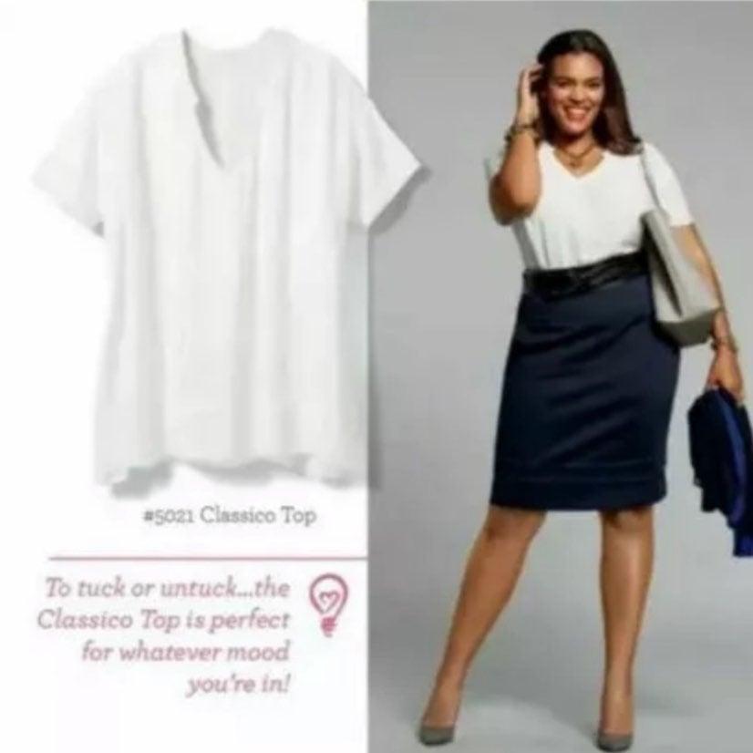Cabi Classico White Top Style #5021
