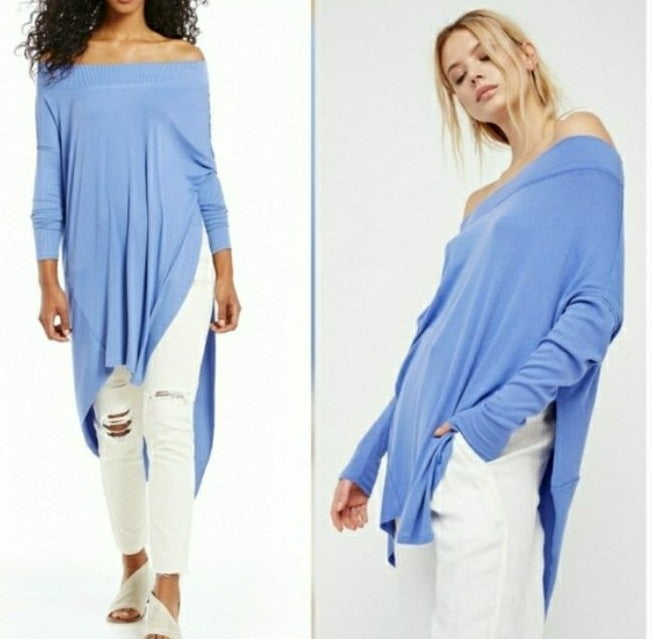 Free People Off Shoulder Grapevine Tunic