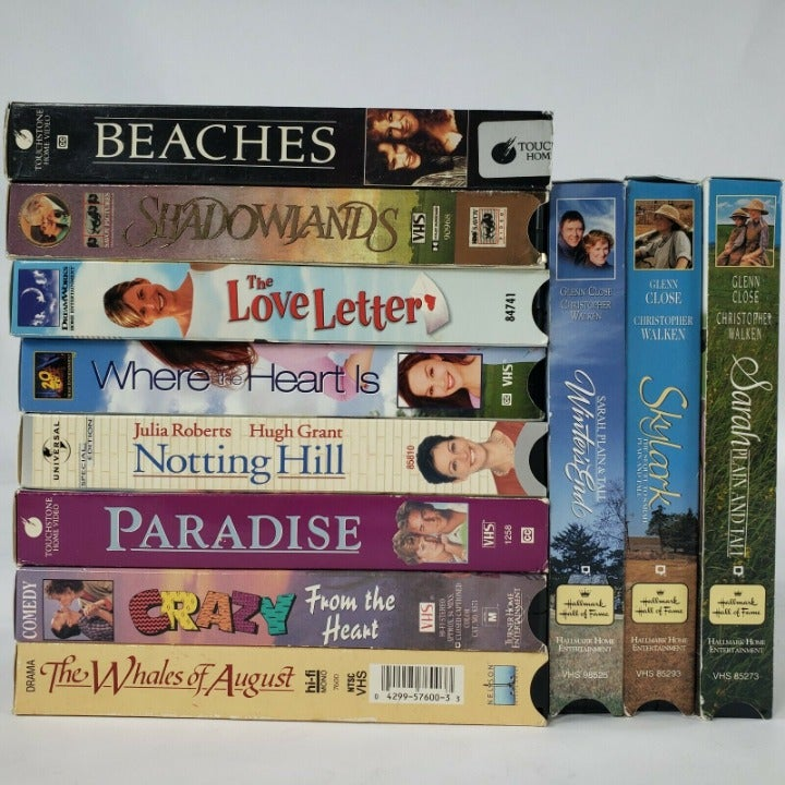 11 VHS Tapes Chick Flick Romantic Comedy