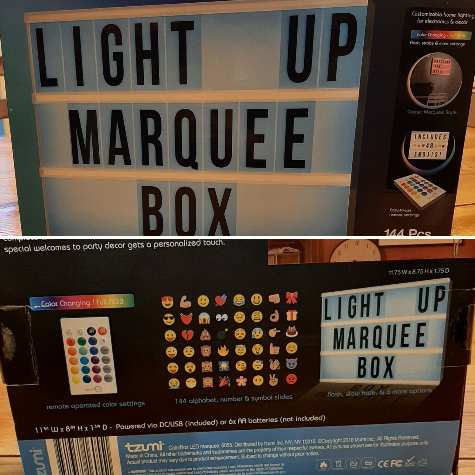 ColorBox LED Marquee