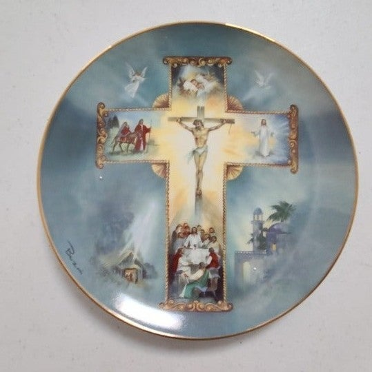 The Life Of Christ Plate by Barzoni