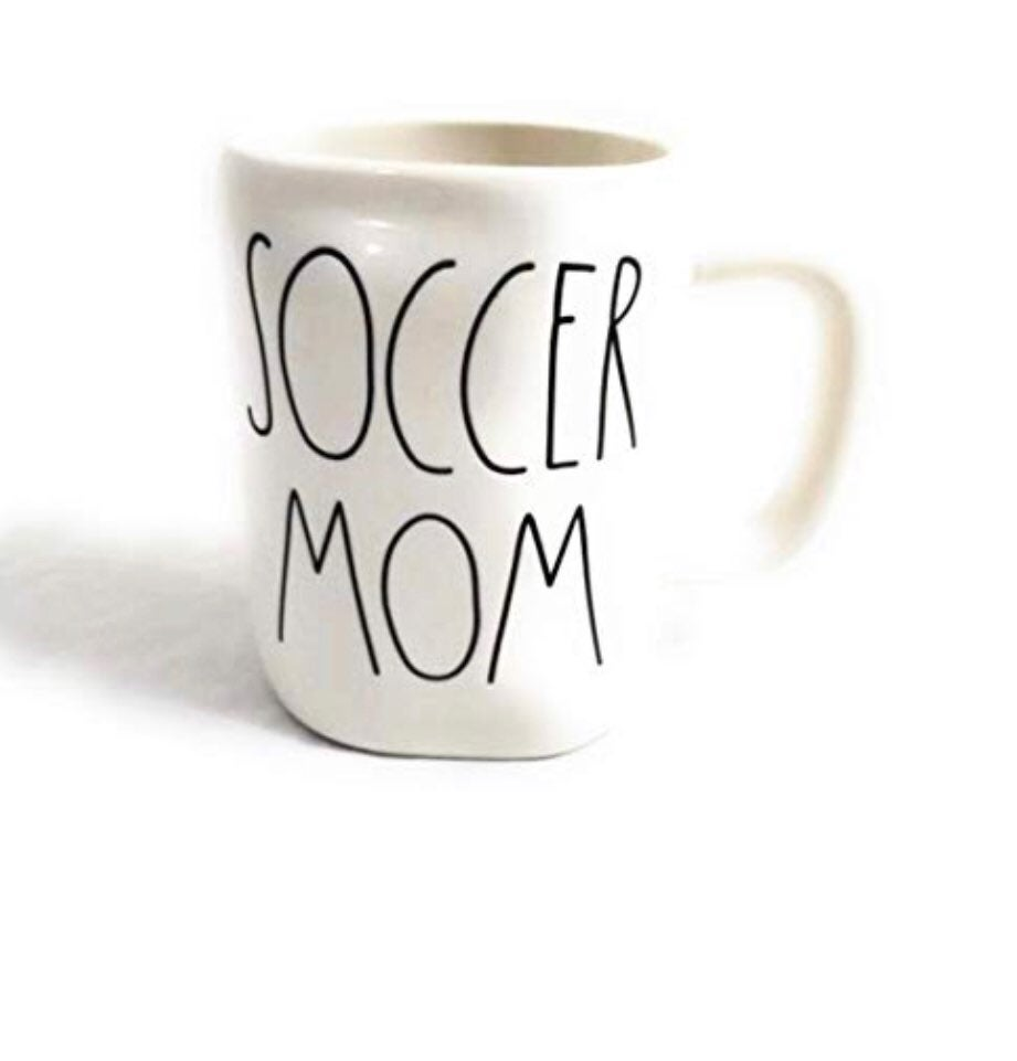 Rae Dunn Soccer Mom Mug