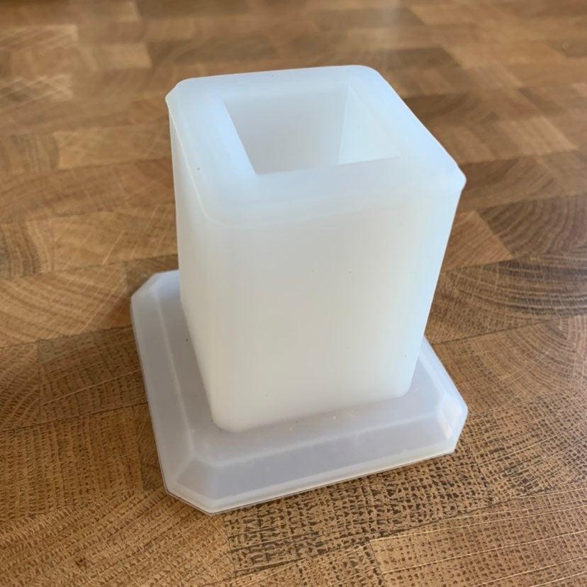 Square Pencil Holder Silicone Mold