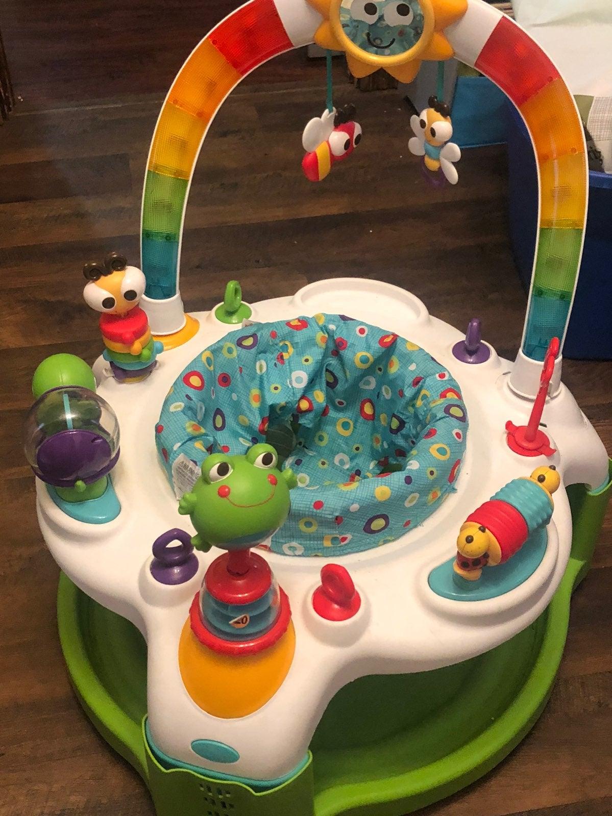 infant toys exosauser