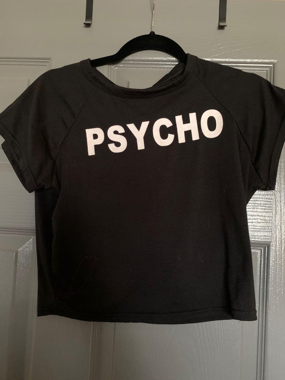 PSYCHO Crop top