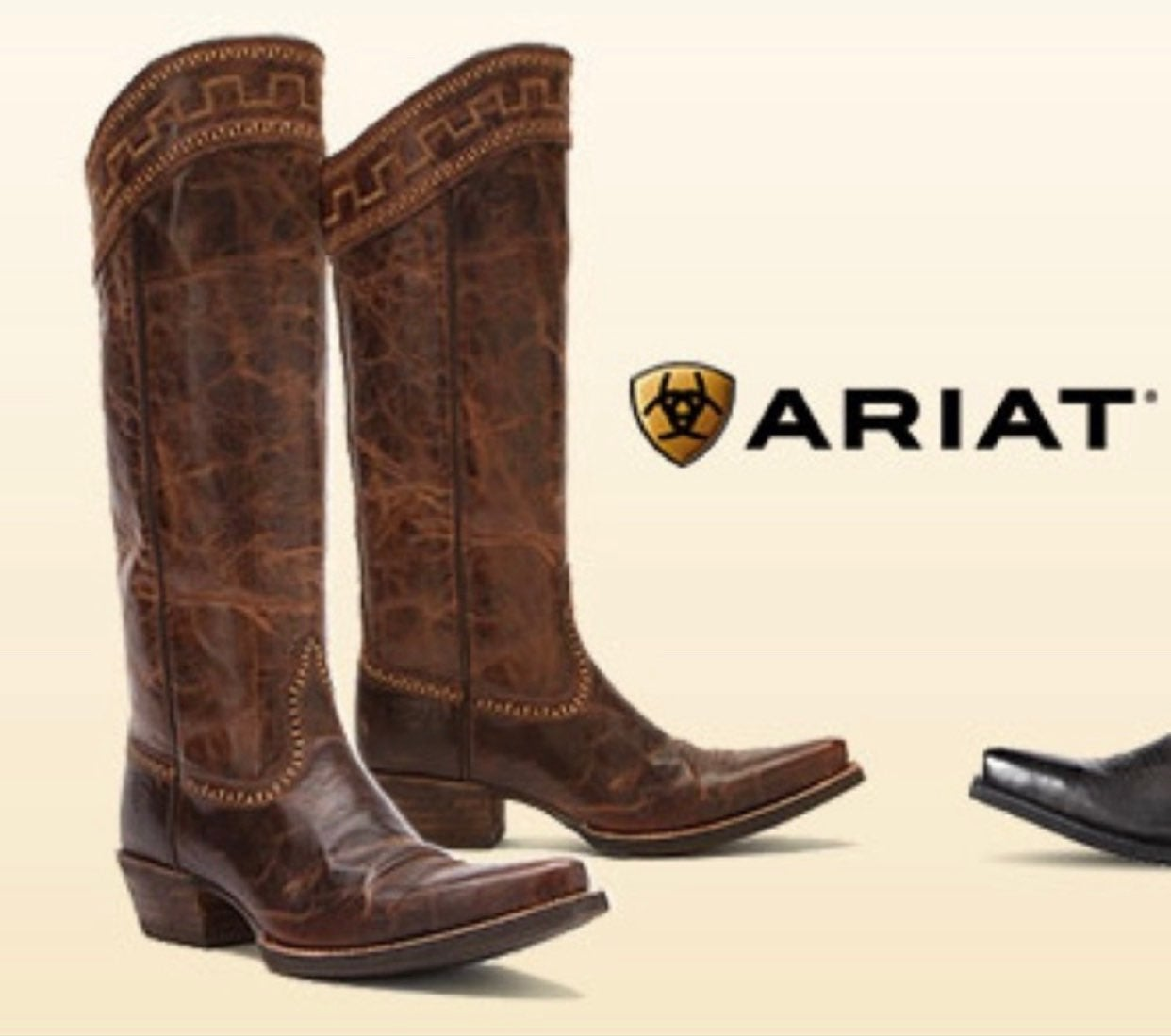 ARIAT SAHARA SASSY PULL-ON COWGIRL BOOTS