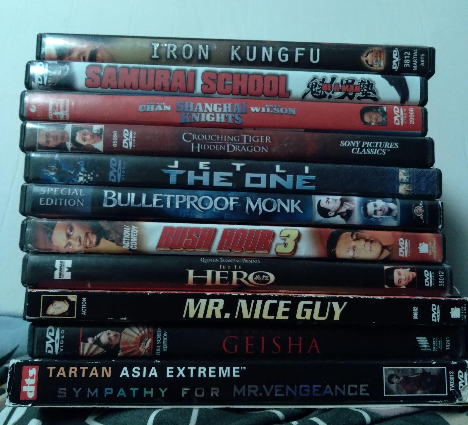 Jackie Chan, Jet Li, and more