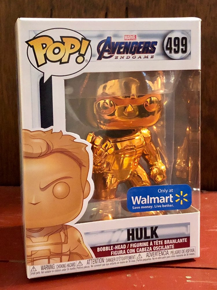 FUNKO POP! MARVEL AVENGERS GOLD HULK 499