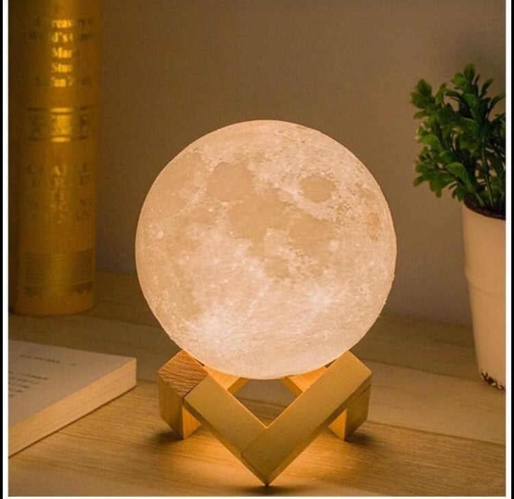 Moon Lamp, Guteauto 5.9 inch 16 Colors L