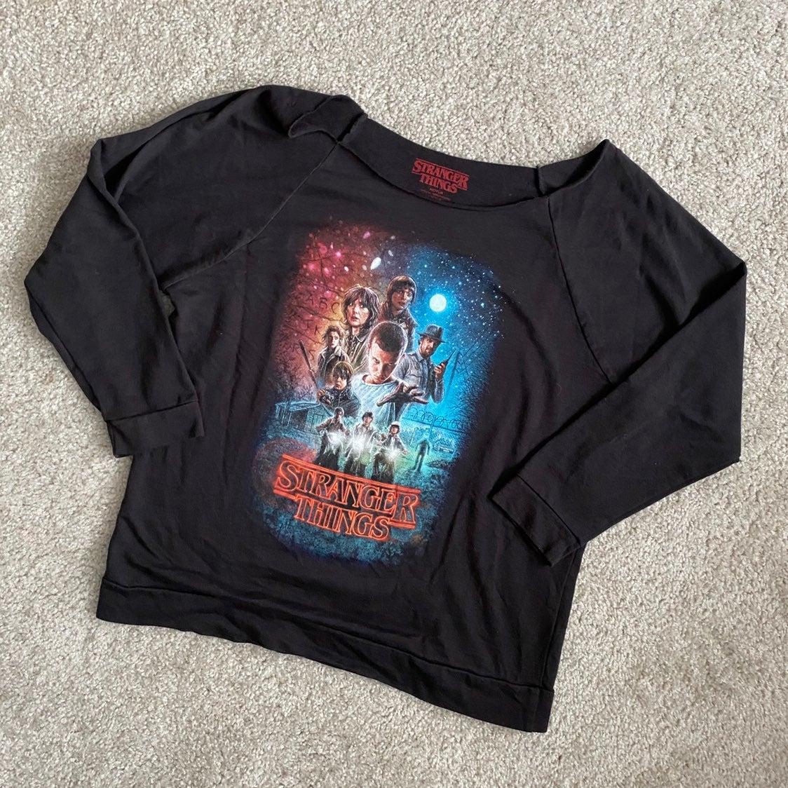 Stranger Things Womens Sweatshirt