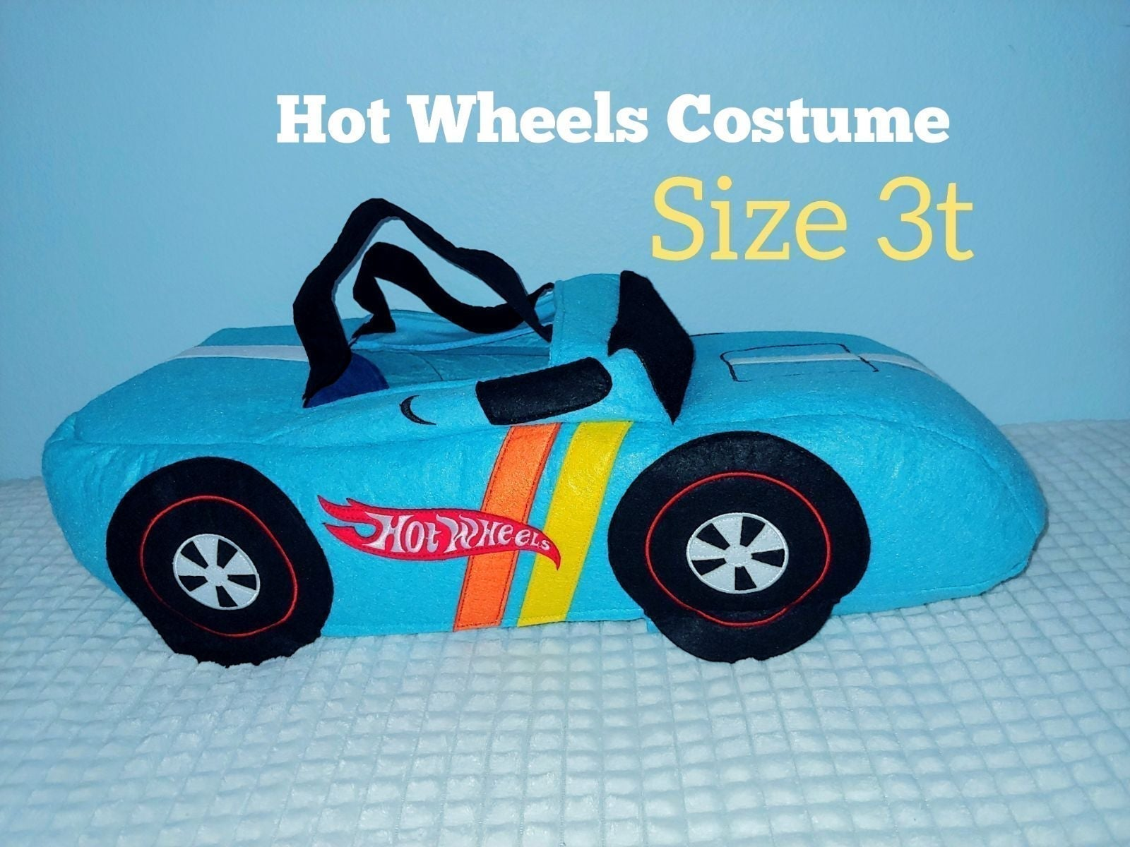 3t Pottery Barn Hot Wheels Costume